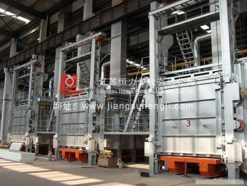 15米(mi)長大型鍛造加熱爐